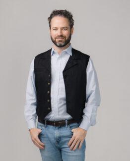 Men's Western Twill Vest