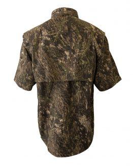 Men's Fishing Shirts, Camo Fishing Shirt, Short Sleeve Fishing Shirt, Tiger Hill Fishing Shir