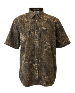 Men's Hunting Shirts. Short Sleeve Hunting Shirt, Camo Hunting Shirt, Tiger Hill Hunting Shirts
