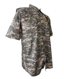Men's Hunting Shirts, Digital Hunting Shirt, Camo Hunting Shirt, Short Sleeve Hunting Shirt.