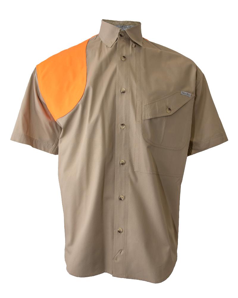 Tiger Hill Mens Vented Back Twill Short Sleeve