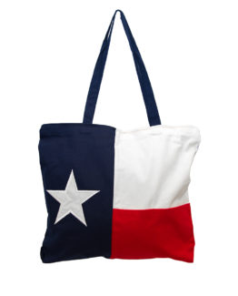 Texas Tote, Texas Flag Tote, Tiger Hill Tote