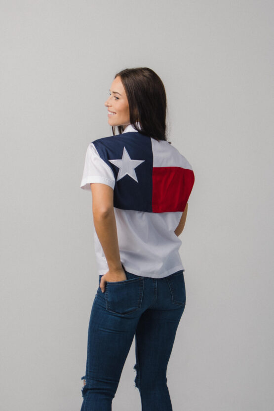 Women's Texas Flag Fishing Shirt
