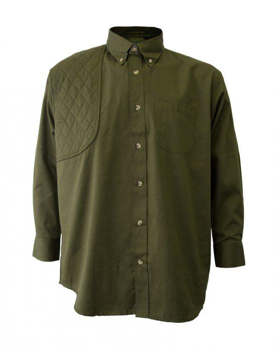 Men's Hunting Shirt, Long Sleeve Hunting Shirt, Army Green Hunting Shirt