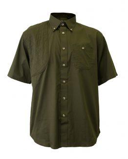 Men's Hunting Shirt, Short Sleeve Hunting Shirt, Army Green Hunting Shirt