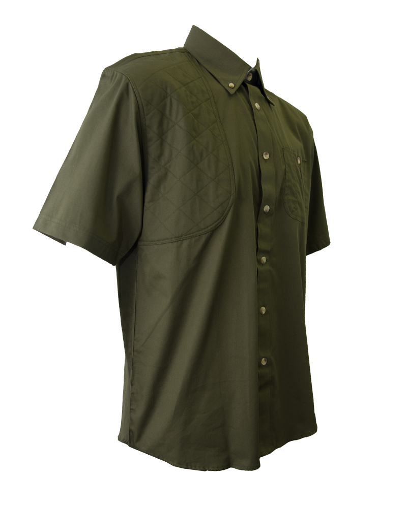 Hunting shirts army green hunting shirt fh outfitters for Green top hunting and fishing