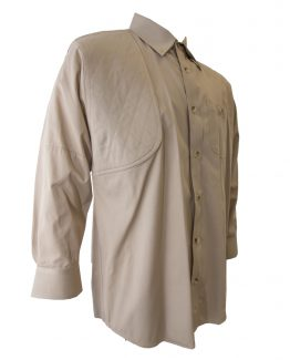 Men's Hunting Shirt, Khaki Hunting Shirt, Long Sleeve Hunting Shirt