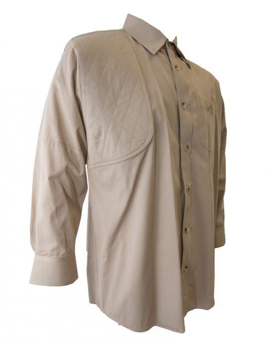 Men's Hunting Shirt, Khaki Hunting Shirt, Long Sleeve Hunting Shirt