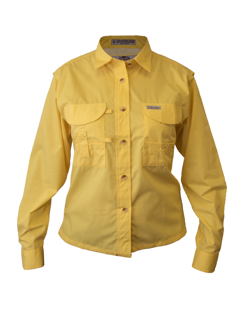 Tiger Hill Men/'s Fishing Shirt Long Sleeves Forest Green