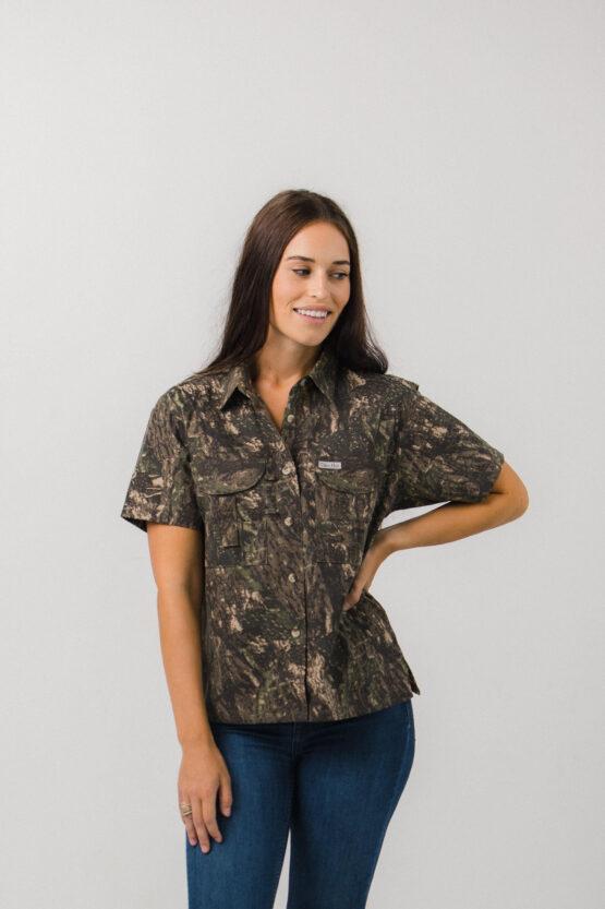 Women's Camouflage Fishing Shirt