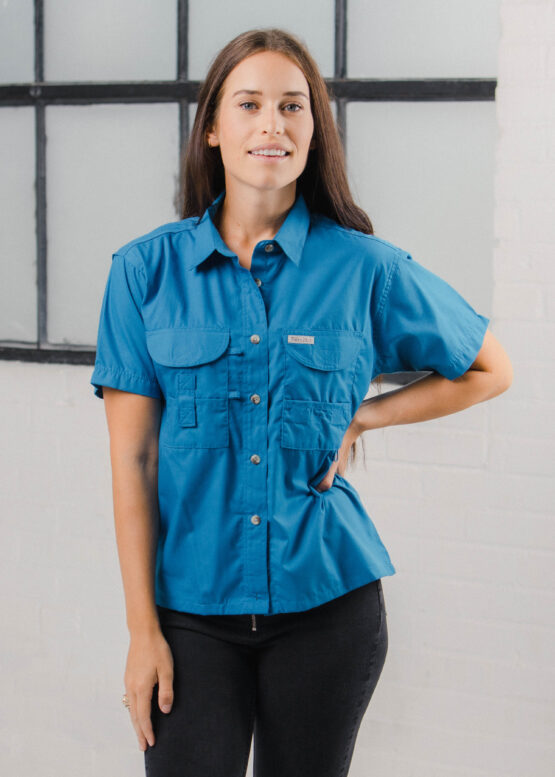 Women's Short Sleeve Fishing Shirt