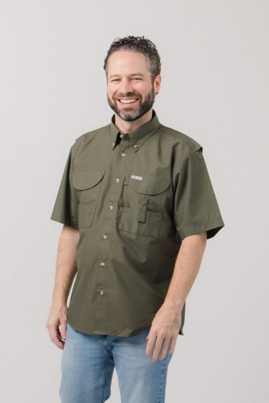 Men's Short Sleeve Fishing Shirt