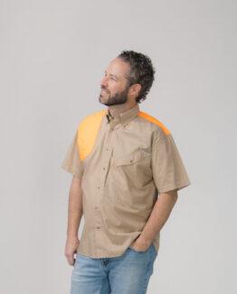 Men's Short Sleeve Blaze Hunting